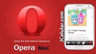 Opera Mini 7 para celular java