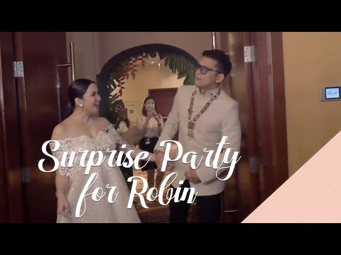 Surprise Party for Robin (Na-hospital pa ako!!)