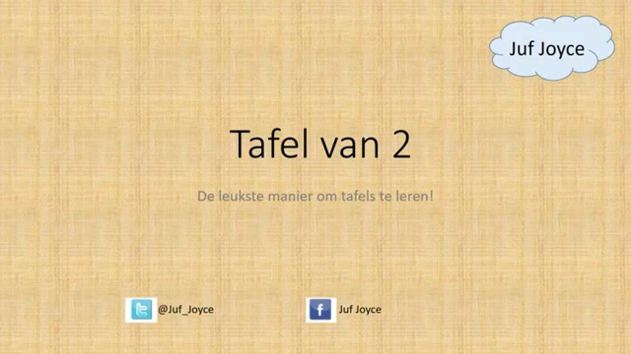 Tafel Van 2.Instructie Film Tafel Van 2 Youtube