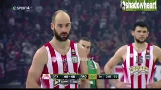Ολυμπιακός - Παναθηναικός 63-58 Highlights |Τελικοί Basket League| |1ος αγώνας|