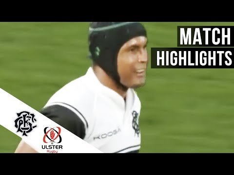 Barbarians v Ulster highlights