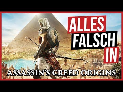 Alles falsch in Assassin's Creed Origins 🛎️ GameSünden Satire