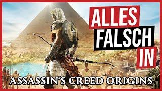 Alles falsch in Assassin's Creed Origins 🛎️ GameSünden [Satire]