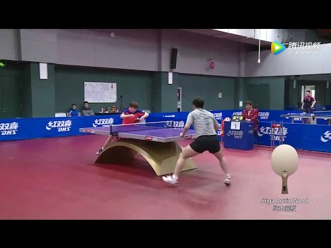 2017 (The 16 year-old talent) WANG Chuqin - Highlights from China Trials for WTTC [HD]
