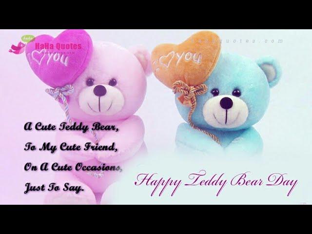 Teddy Bear Day Whatsapp Status 10 February Te With Loop