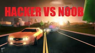 HACKER VS NOOB ! ROBLOX JAILBREAK