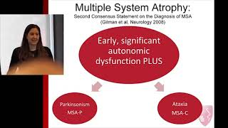 Multiple System Atrophy and MSA Research 101 | Kathleen L Poston MD, MS