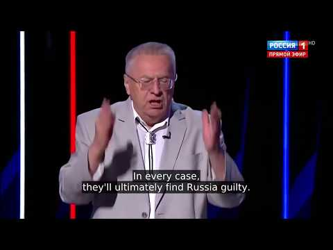 Russia's Politician Zhirinovsky: The Reign Of The Anglo-Saxons Will Soon Be Over!