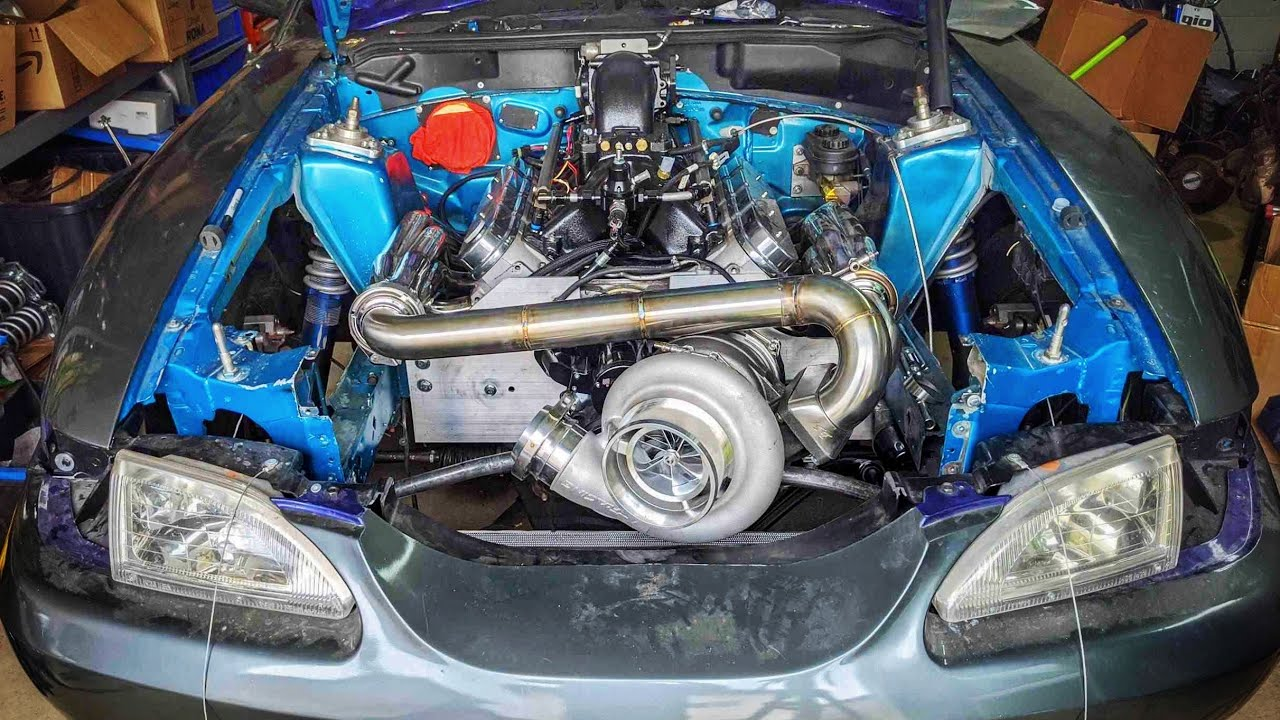 The Huge Turbo Is Mounted And Its Amazing!
