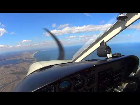 Flight from Lawrence LWM to Plum Island 4/19/2014