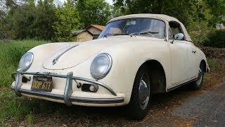 1959 Porsche 356 1600 Cabriolet Barn Find Pick Up and Drive