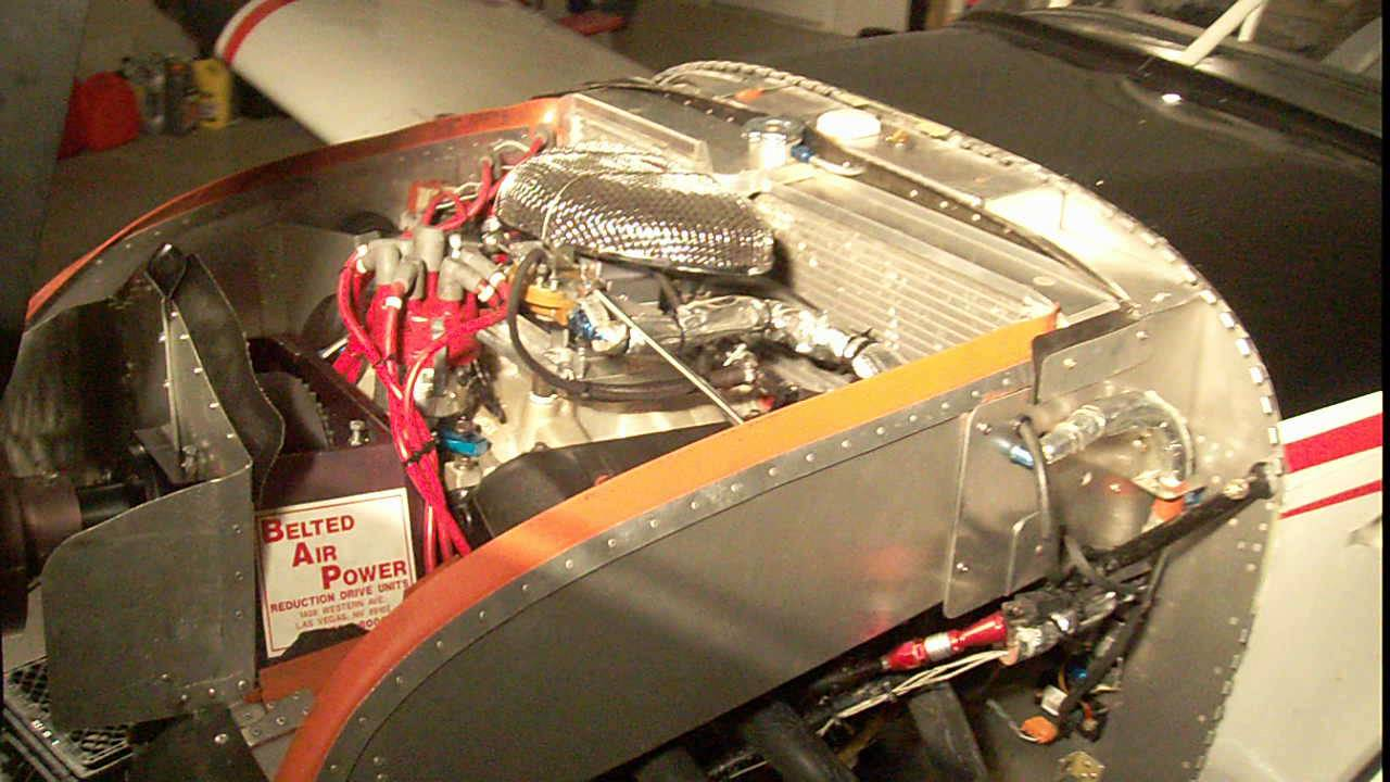 Aircraft engine convertion  Chevy Vortec V6 4 3L in a Van's RV-7A