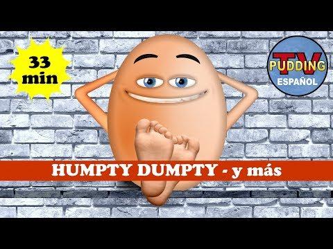 Humpty Dumpty Se Sentó En La Pared - Y Más | Canciones Infantiles