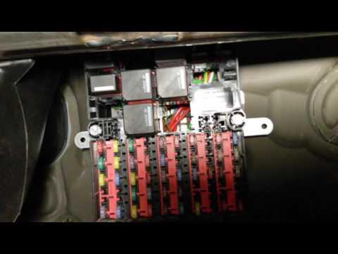 Схема электрооборудования форд фиеста 2007