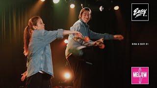 1月23日 MELLOW MELLOW『定期ライブ#7』@渋谷O-Nestで披露した HINAxEASY コラボ企画 けん玉パフォーマンス こちら初公開になります! 《EASY》 【OFFICIAL ...