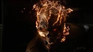 Дрожь против Призрачного Гонщика в сериале