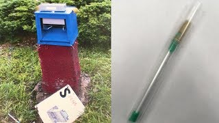See How Crack Pipe Vending Machine Found on Roadside Operates