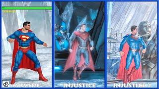 DC Universe MKVSDC Injustice SUPERMAN Graphic Evolution 2008-2017   XBOX360 PS4  