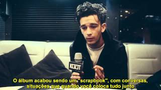 Interview with Matt Healy from The 1975 // Flex, Wien // 28/11/2013 (Legendado - PT)