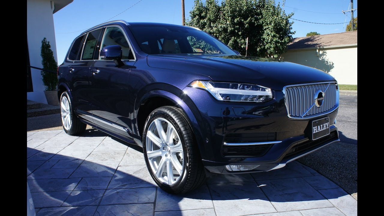 2017 Volvo XC90 T6 AWD Inscription Walkaround, Start up, Tour and Review - YouTube