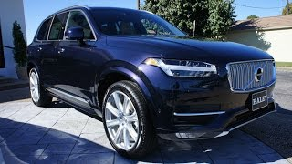 2017 Volvo Xc90 T6 Awd Inscription Walkaround, Start Up, Tour And Review