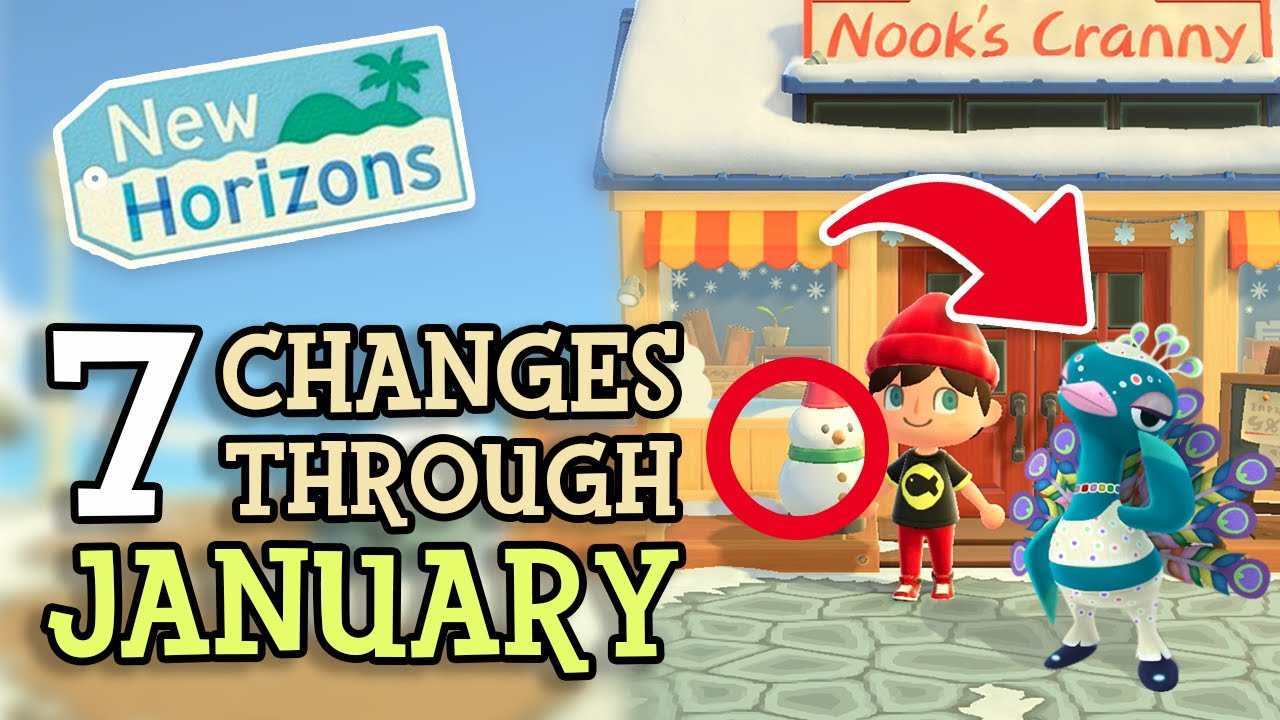 Animal Crossing New Horizons: 7 CHANGES & NEW EVENTS in JANUARY (2021 Update Tips You Should Kno