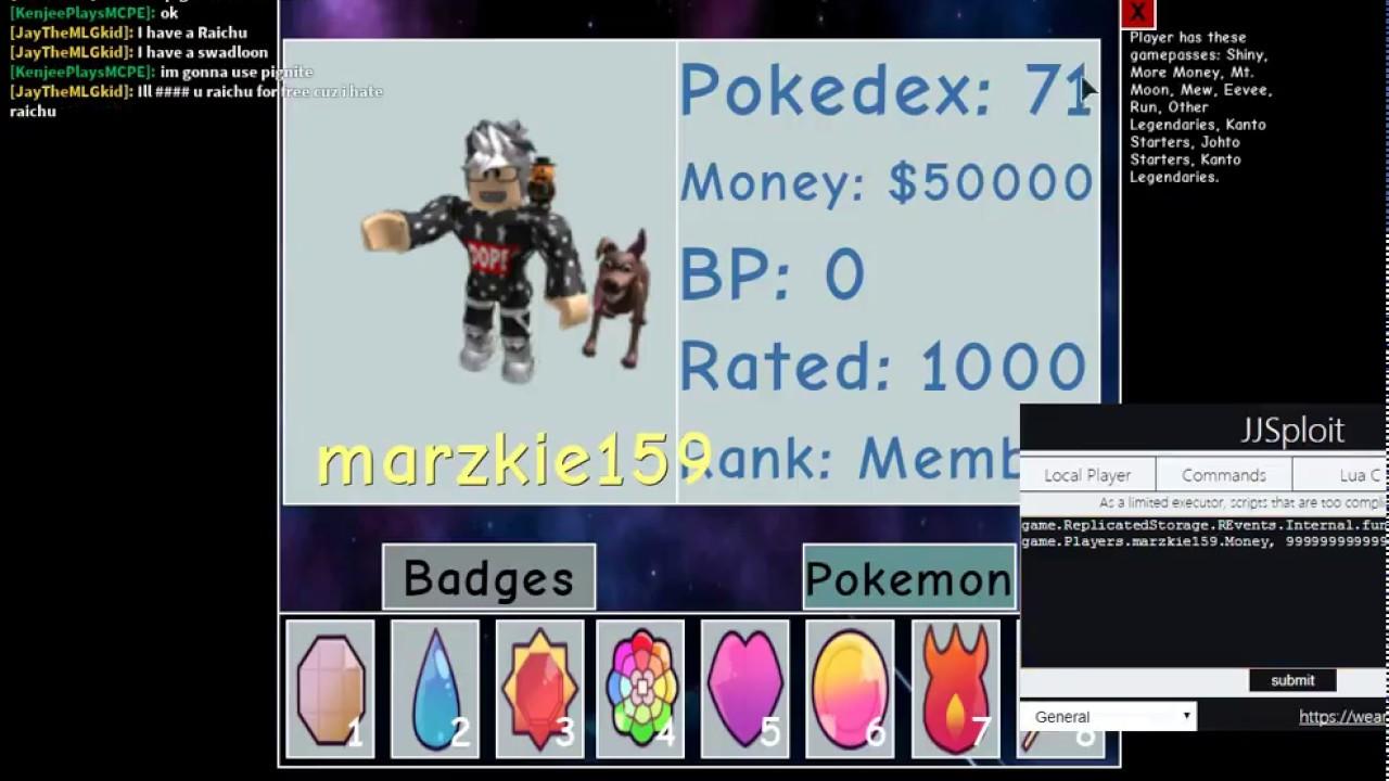 Roblox Project Pokemon Cheat 2020 Youtube