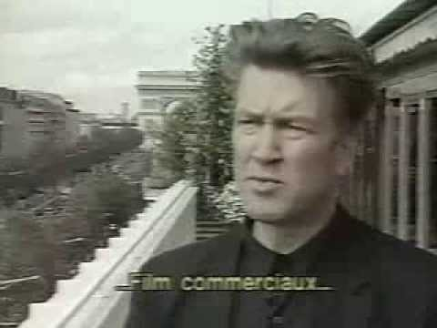 David Lynch at Paris for the re-released of