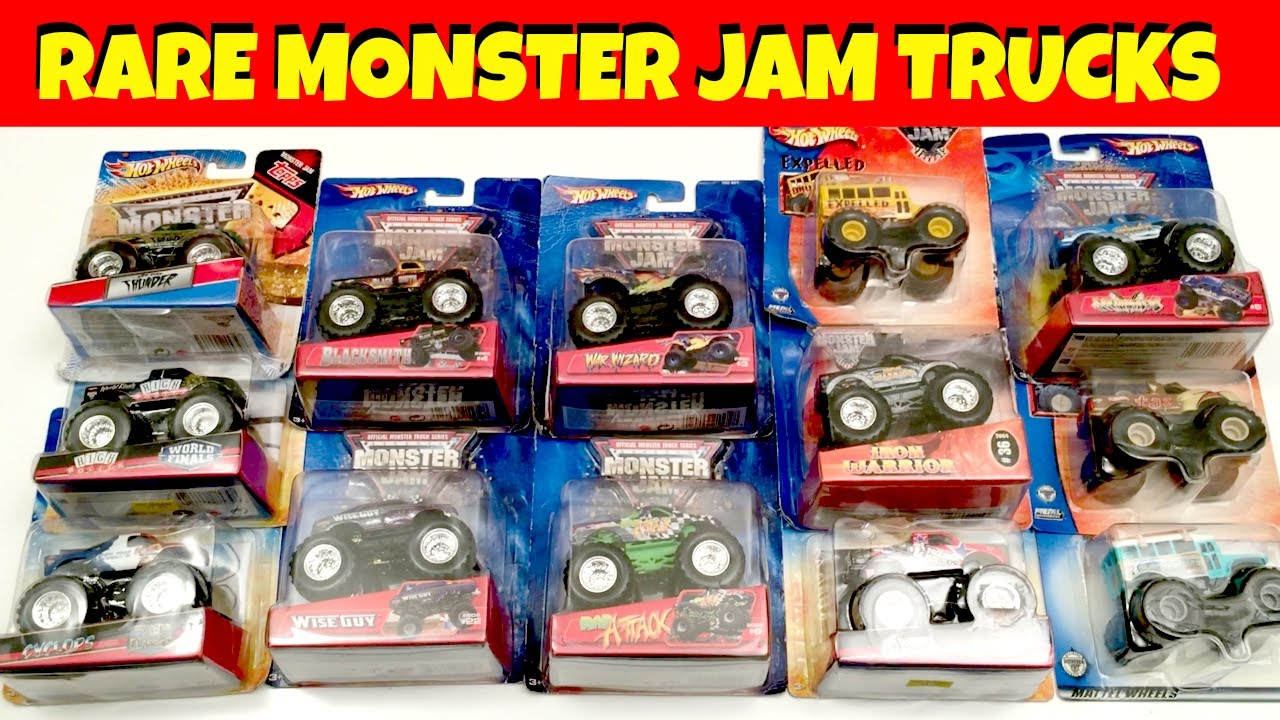 Rare Moster Jam Trucks Youtube