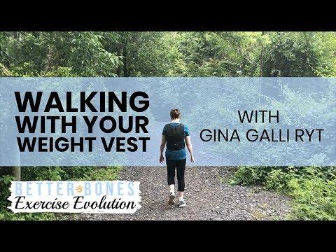 Better Bones Exercise Evolution: Walking With Your Weight Vest (Teaser)