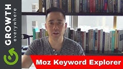 How to Use Moz Keyword Explorer to See Keyword Difficulty, Opportunity, & Potential