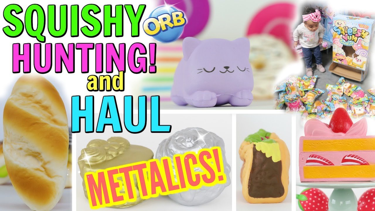 Squishy Hunting : SQUISHY HUNTING VLOG AND HAUL! AMAZING FINDS FOR OUR COLLECTION! - YouTube