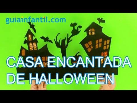 C mo hacer una casa encantada en halloween youtube - Como amueblar una casa ...