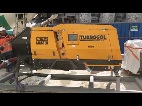 Turbosol Beton Master working at Montreuil (France)