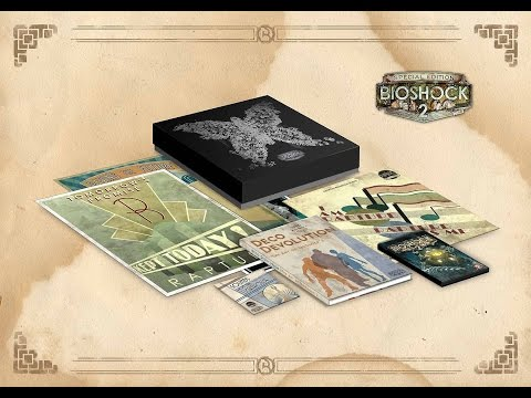 Bioshock 2 Special Edition Unboxing (PC) ENGLISH