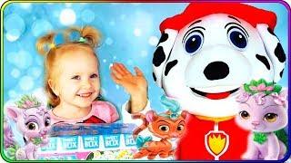 Тома и Игрушки Милые котята и питомцы Принцесс Диснея. Распаковка сюрпризов. Видео для детей