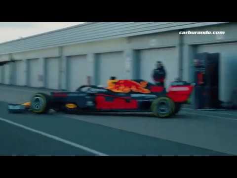 Red Bull Racing puso en pista al nuevo RB16