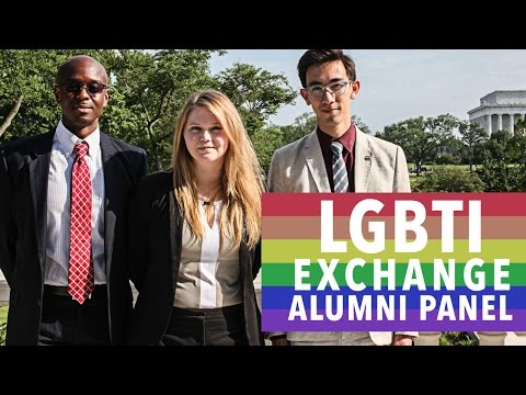 LGBTI Exchange Alumni Panel [Full Video]
