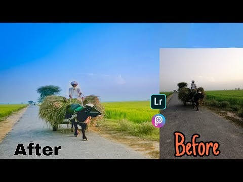 NATURAL PHOTO EDITING WITH ANDROID MOBILE full tutorial step by step. thumbnail