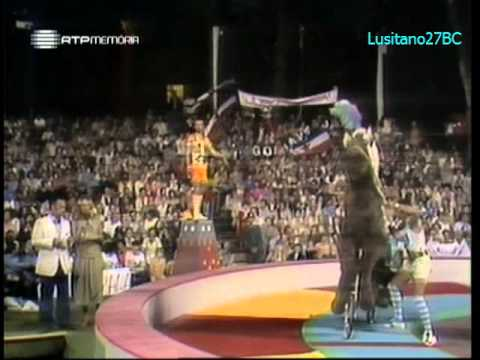 Jogos Sem Fronteiras - 1979 #1 - Ascona (CH) - Jeux Sans Frontières - RTP Memória