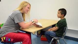 Pediatric Therapy Network's Speech-Language Services