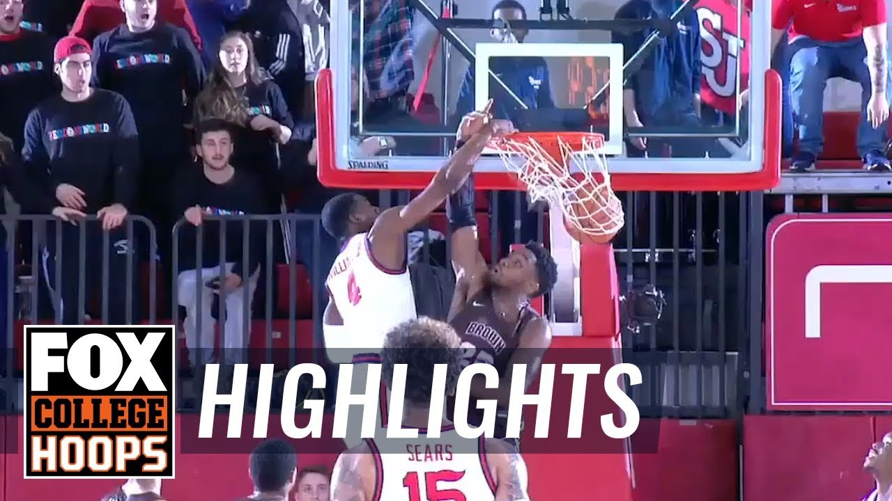 St. John's continues to impress, beats Brown 82-71  HIGHLIGHTS