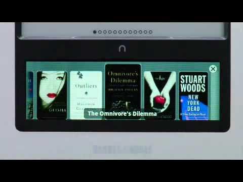 Barnes & Noble Present The Nook