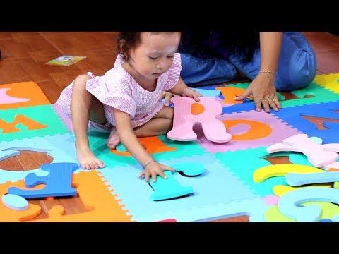 Seru Balita Lucu Belajar dan Bermain Karpet Puzzle Huruf - Mainan Anak Edukatif