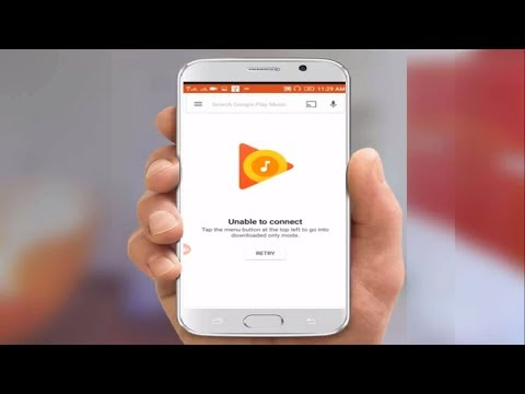 How to Fix Unable Connect Error of Google Play Music in Android