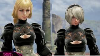 Soul Calibur VI: 2B Thiccness Comparison (Female Fighter Body Proportions Comparison)
