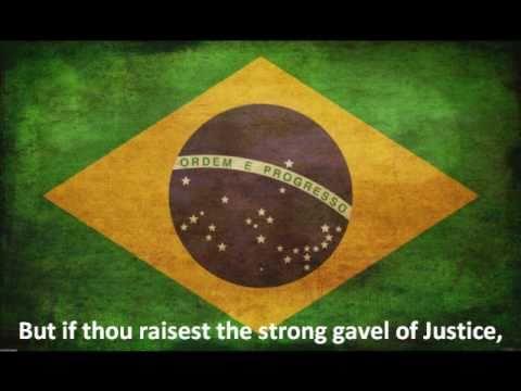 Brazil National Anthem - English Lyrics