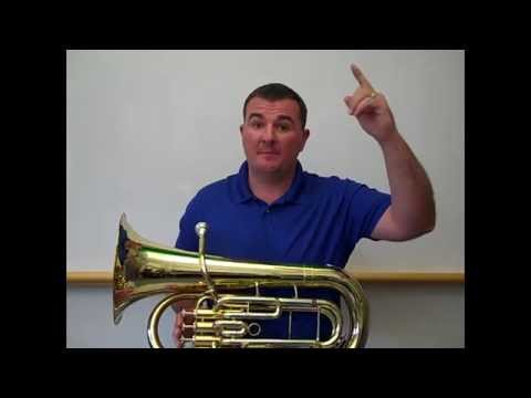 Playing G, A, and Bb on Baritone Horn/Euphonium