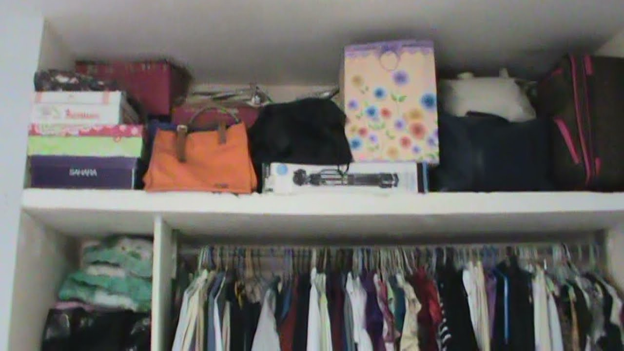 Closet peque o ideas para organizar que si funcionan for Ideas para closets pequenos