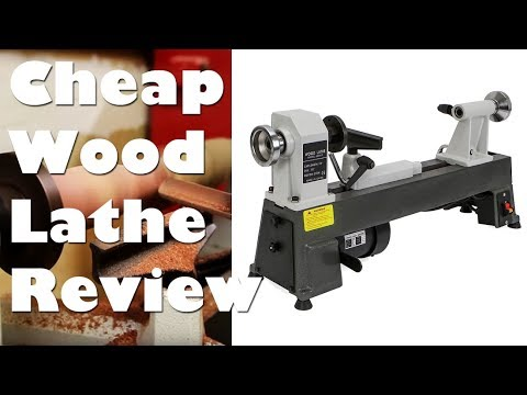 Cheap Chinese Mini Wood Lathe Unboxing, Setup, and Testing